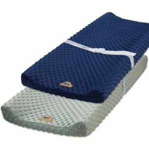 Blue Snail Changing Pad Cover