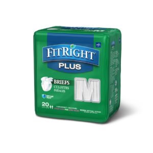 FitRight Plus Adult Diapers for Diarrhea