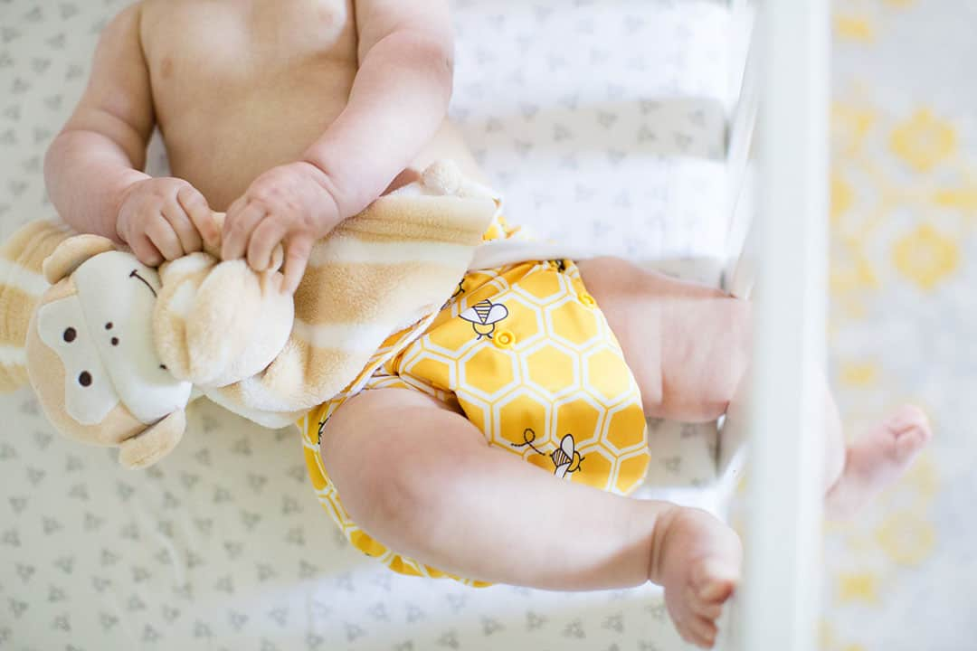 ammonia smell cloth diapers