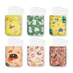 Kawaii Baby Good Night Cloth Diapers