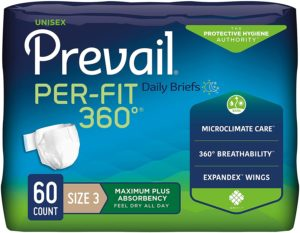 Prevail Per-Fit 360 Adult Diapers for Diarrhea