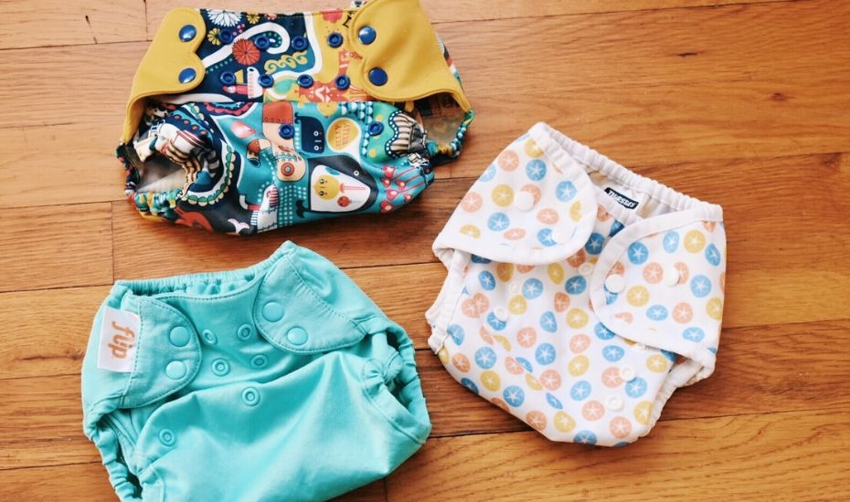 Various Types of Cloth Diapers